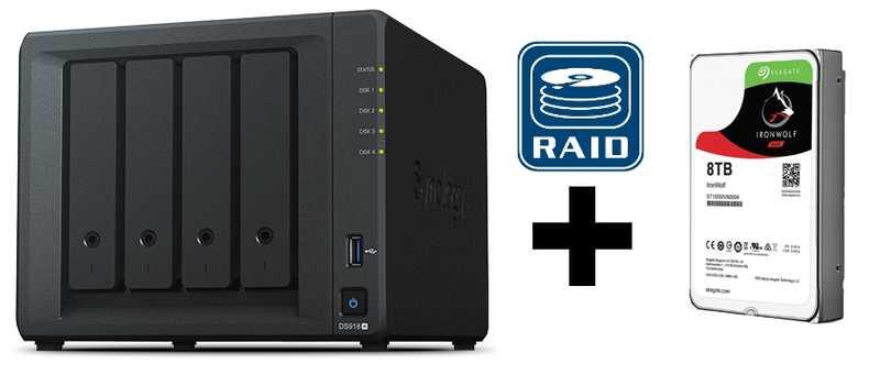 Añadir un disco duro al NAS DS918+
