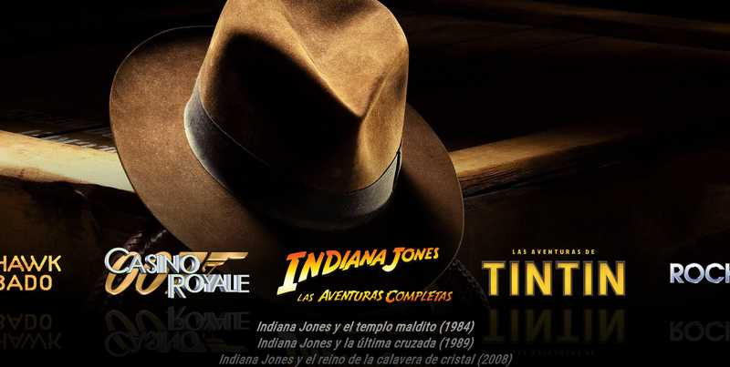 Saga Indiana Jones en Kodi