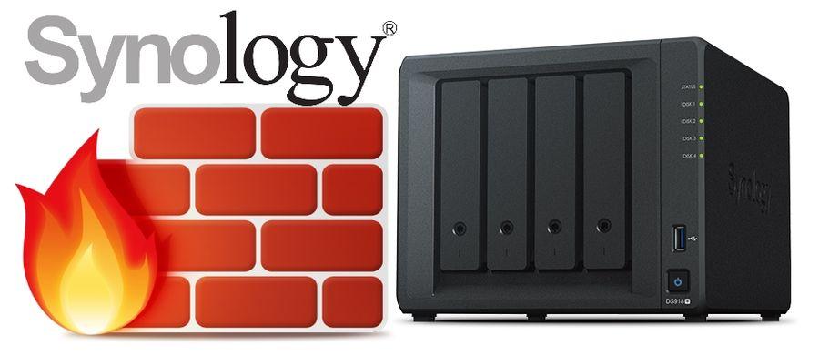 El firewall de Synology. Cómo configurarlo